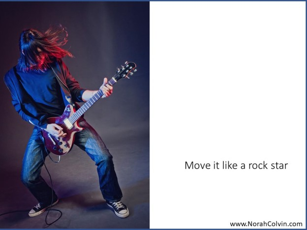 Move it like a rock star flash fiction