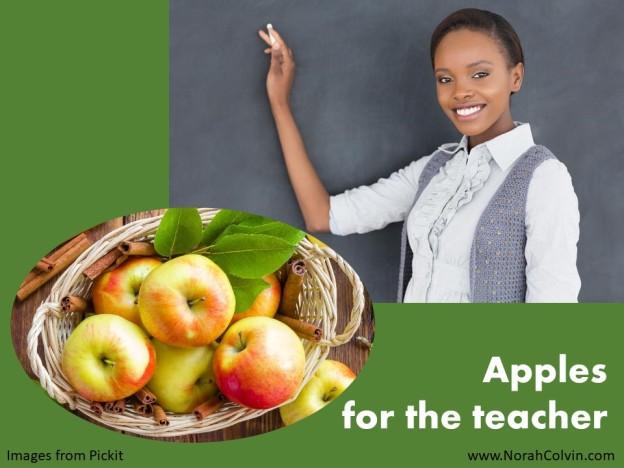 Apples for the teacher