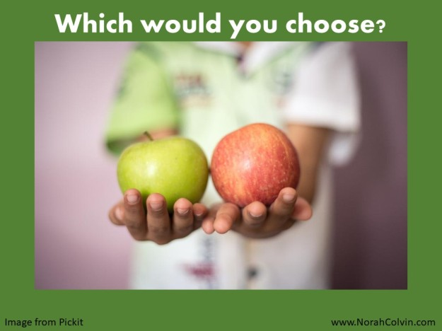 apples - which would you choose