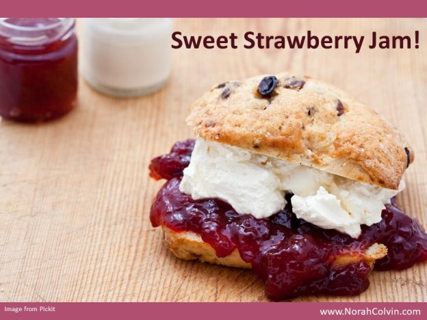 Sweet Strawberry Jam flash fiction