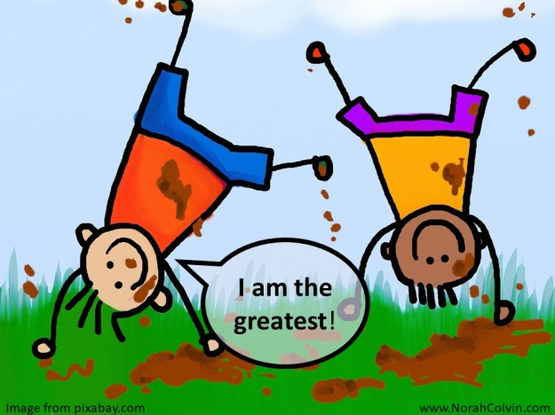 I am the greatest - playground game