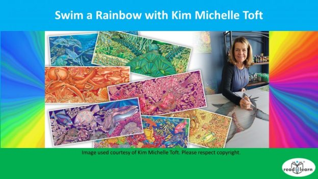 I Can Swim a Rainbow by Kim Michelle Toft