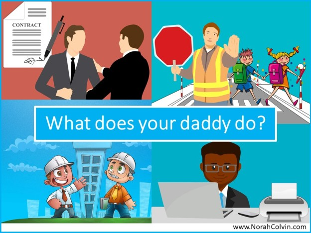 Flash fiction What does your daddy do