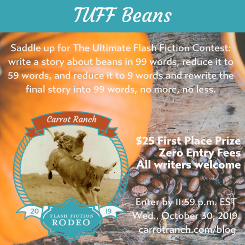 Carrot Ranch Rodeo TUFF Beans contest