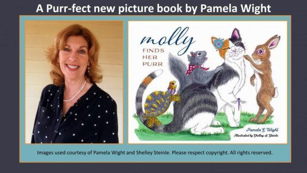 Pamela Wight discusses her new picture book Molly Finds Her Purr