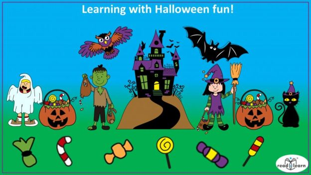 learning is fun with Halloween-themed activities