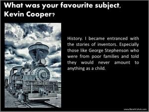 Kevin Cooper school days reminiscences