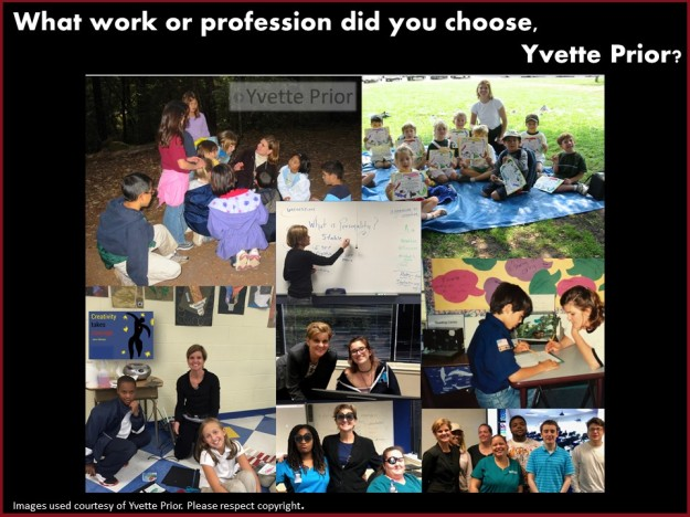 Yvette Prior working life