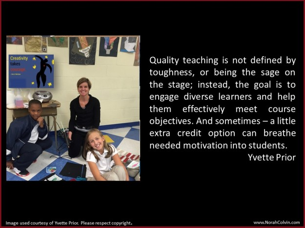 Yvette Prior on quality teaching