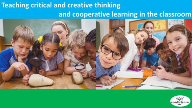 teaching critical and creative thinking and cooperative learning in the classroom