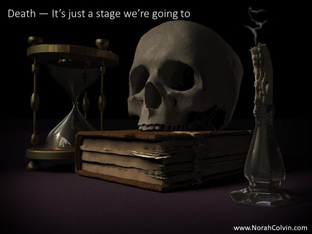 Death - It's just a stage we're going to flash fiction