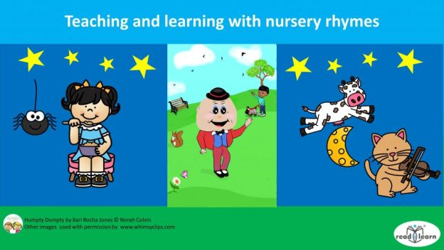 teaching and learning with nursery rhymes