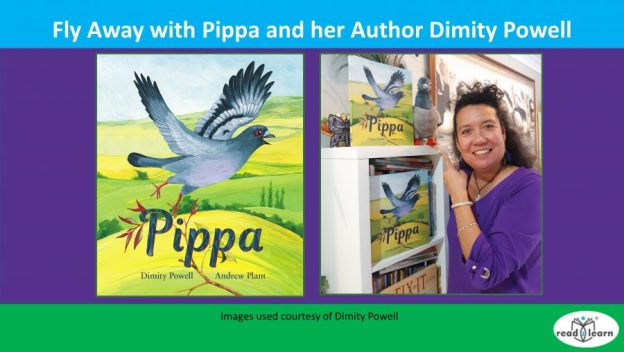 author Dimity Powell discusses her picture book Pippa
