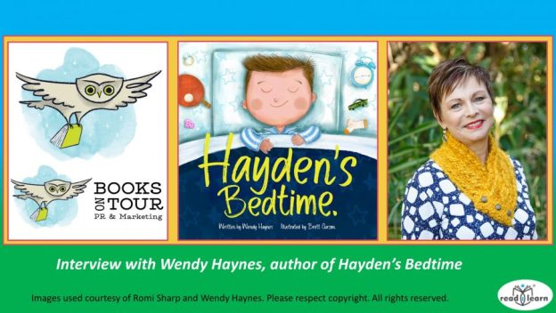 interview with Wendy Haynes author of Hayden's Bedtime