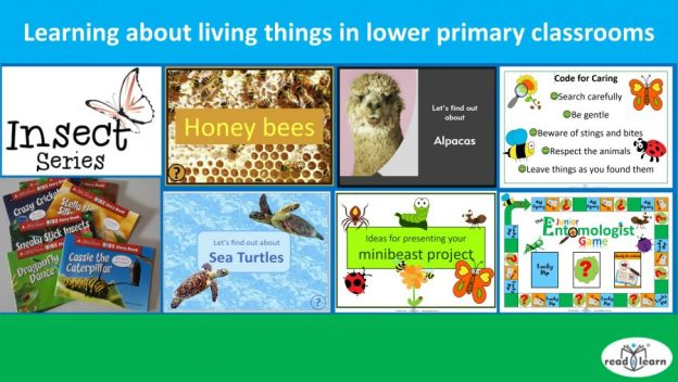 teaching and learning about living things in lower primary classrooms