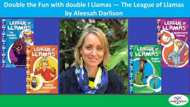 review of The League of Llamas by Aleesah Darlison