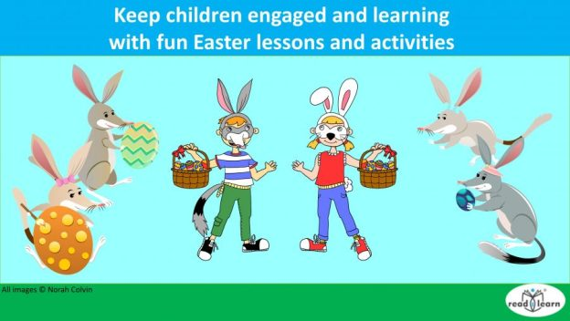 keep the children engaged and learning with fun Easter activities