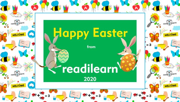 Happy Easter from readilearn - 2020