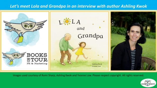 interview with Ashling Kwok about her picture book Lola and Grandpa