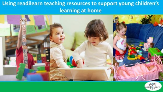 using readilearn teaching resources to support young children's learning at home