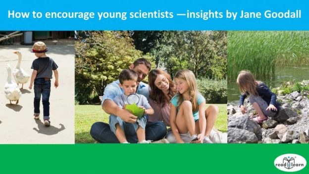 how to encourage young scientists