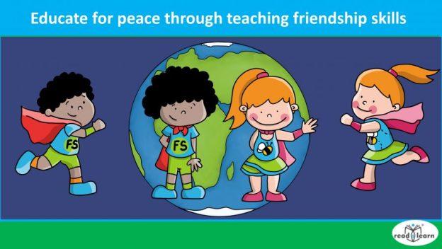 educate for peace through teaching friendship skills