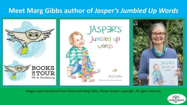 meet Marg Gibbs author of Jasper's Jumbled Up Words