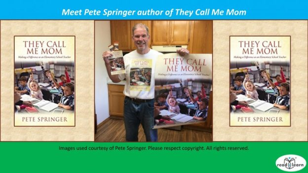 interview with Pete Springer author of They Call Me Mom