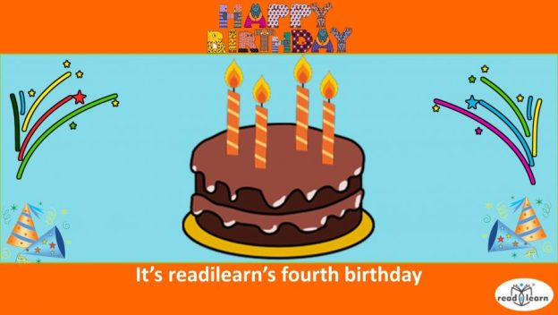 readilearn's fourth birthday