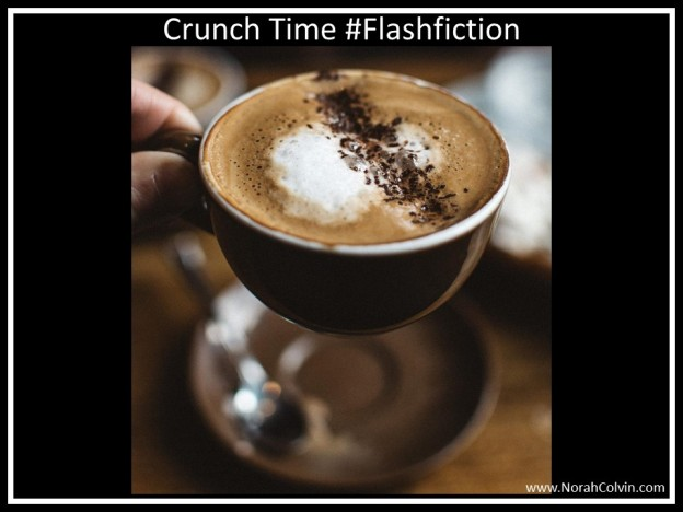 Coffee Crunch Time flash fiction