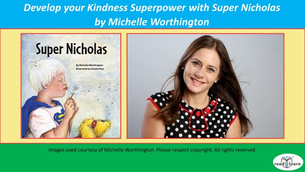 Develop your Kindness Superpower with Super Nicholas