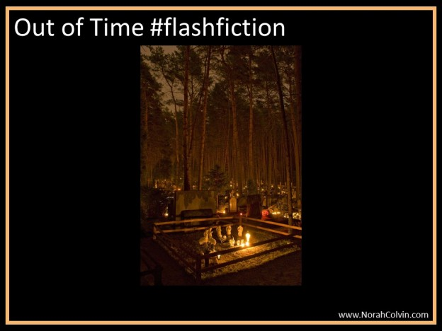 Out of time flashfiction spooky campfire