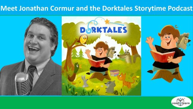 meet Jonathan Cormur and the Dorktales storytime podcast