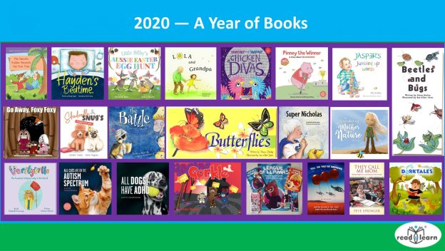 book reviews and author interviews from readilearn in 2020