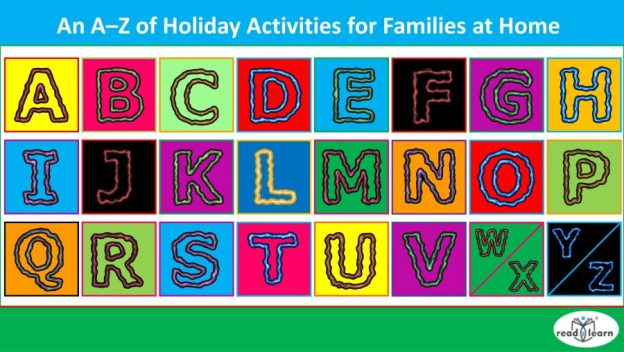 holiday activities for the family at home