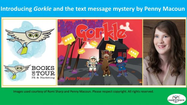 Introducing Penny Macoun and her picture book Gorkle