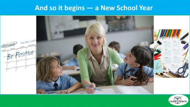 preparing for a new school year lower primary