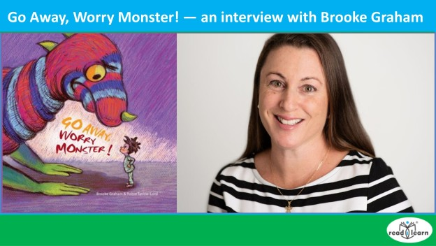 interview with Brooke Graham author of Go Away, Worry Monster