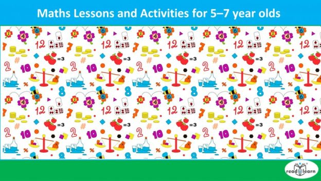 maths lessons and activities for 5 - 7 year-olds
